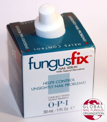 OPI Fungus Fix packaging (view 1)