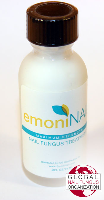 Front View #1 of EmoniNail Bottle
