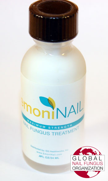 Front View #2 of EmoniNail Bottle