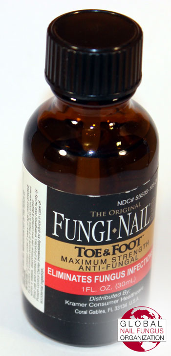 Front view of the Fungi Nail Brand's bottle.