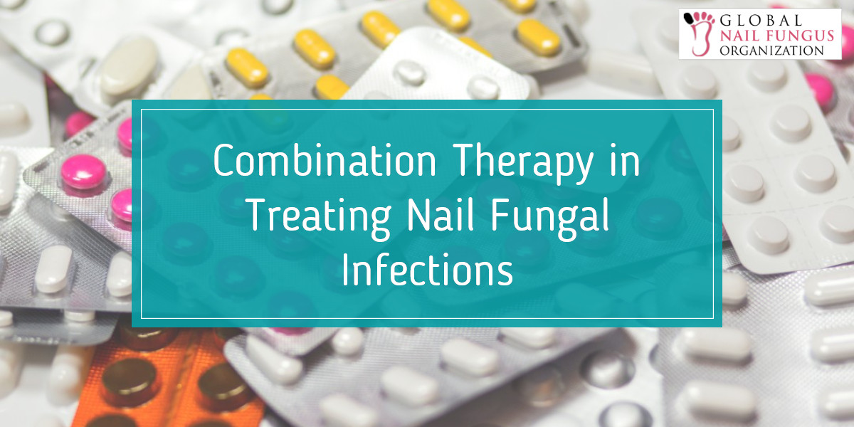 Combination therapy for toenail fungus